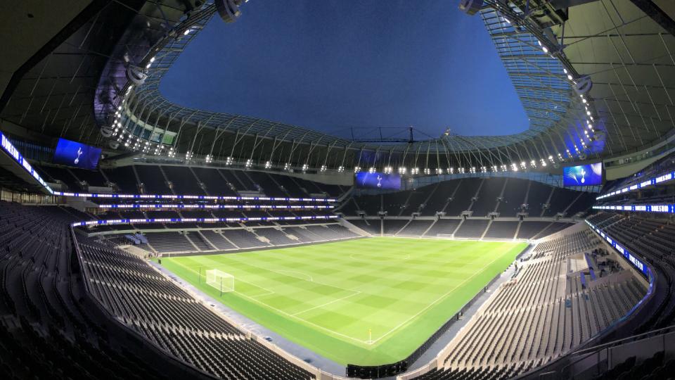 Tottenham Stadium Banner