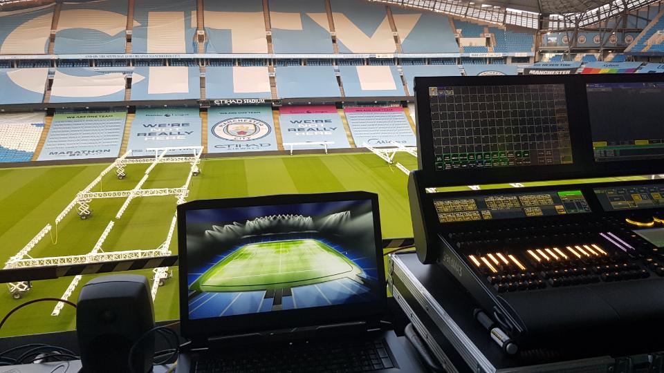 Etihad Stadium Banner